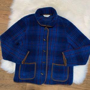 Orvis Plaid Sherpa Jacket